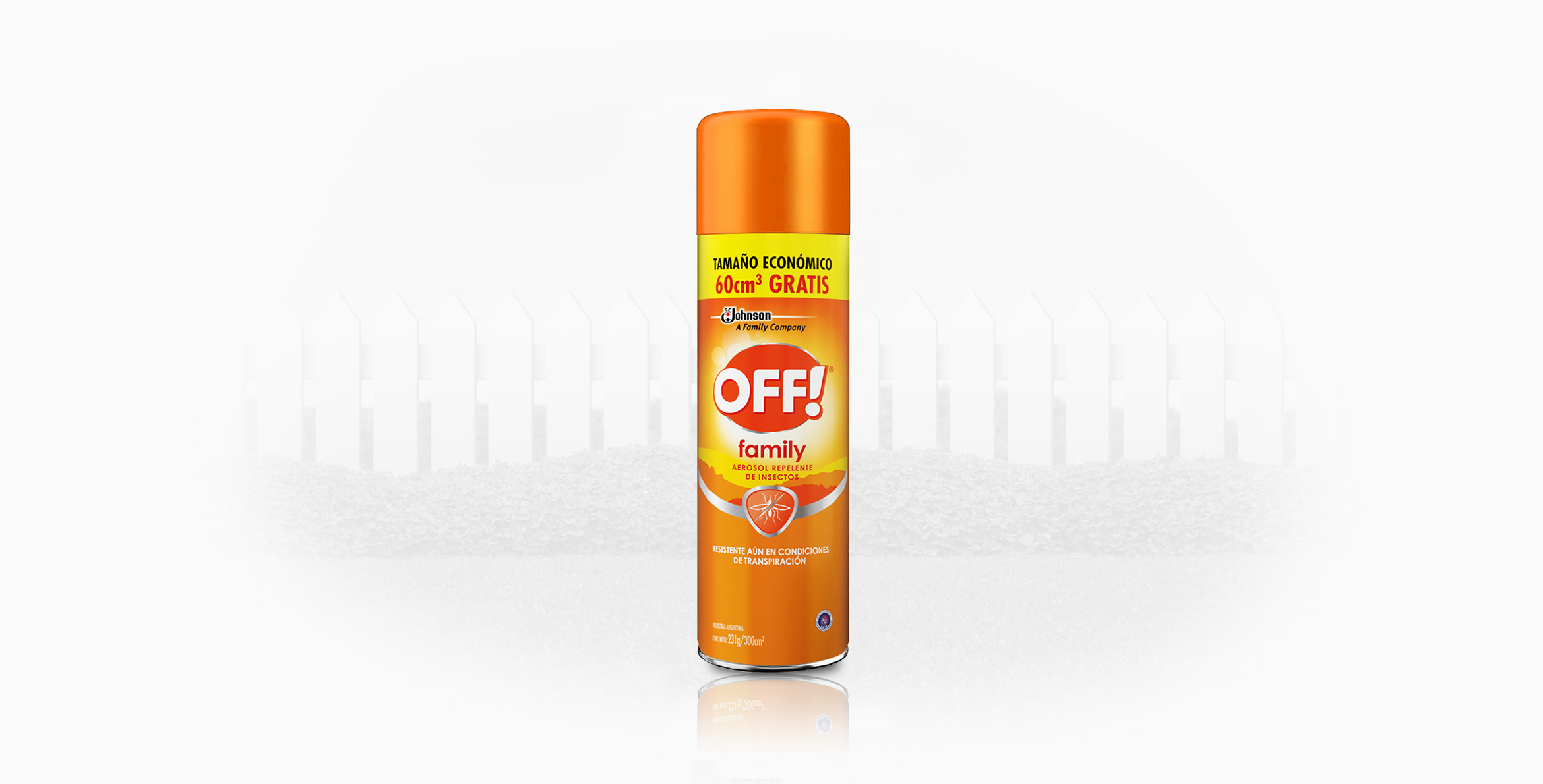 OFF!® Family Aerosol 300 ml