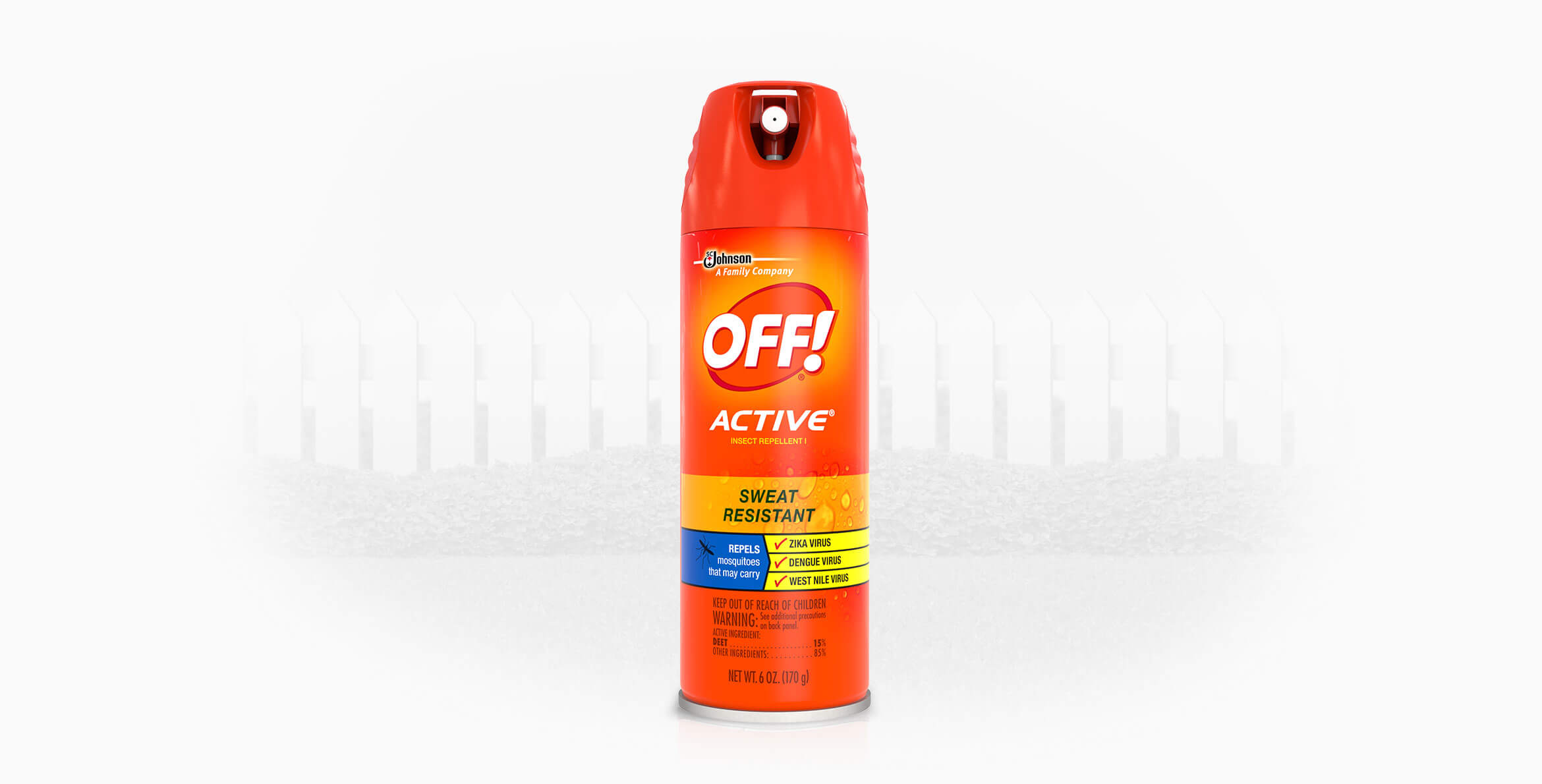 Off bug spray clip on